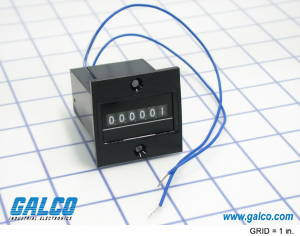 Electromechanical Totalizing Counters