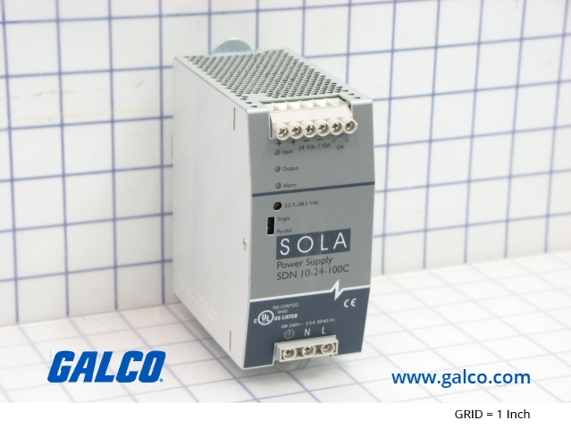 SDN10-24-100C - Sola - Switching Power Supplies | Galco Industrial