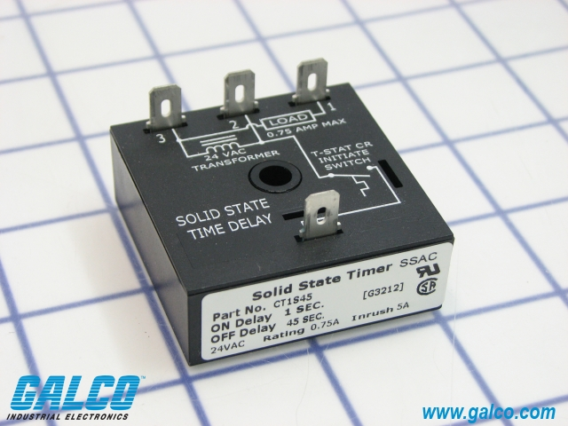 [SCHEMATICS_4JK]  CT1S45 - SSAC - Timing Relays | Galco Industrial Electronics | Abb Solid State Relay Wiring Diagram |  | Galco Industrial Electronics