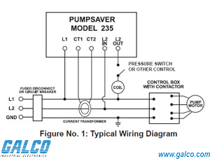 235 3r l symcom protection relay galco industrial electronics rh galco com Water Pump Wiring Diagram Pool Pump Wiring Diagram
