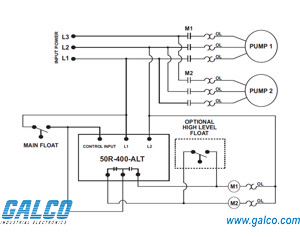 alternating relay wiring diagram pumps ab alternating relay wiring diagram 50r-400-alt - symcom - alternating relays | galco ... #3