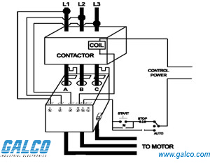 Schematic Diagram Of Overload Relay on wiring diagram for magnetic contactor