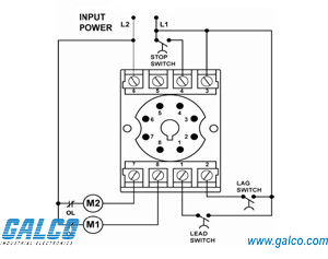 alt 100 3 sw symcom alternating relays galco industrial rh galco com ab alternating relay wiring diagram alternating current relay wiring diagram