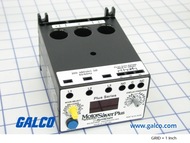 777 Lr P Symcom Motor Protection Relay Galco