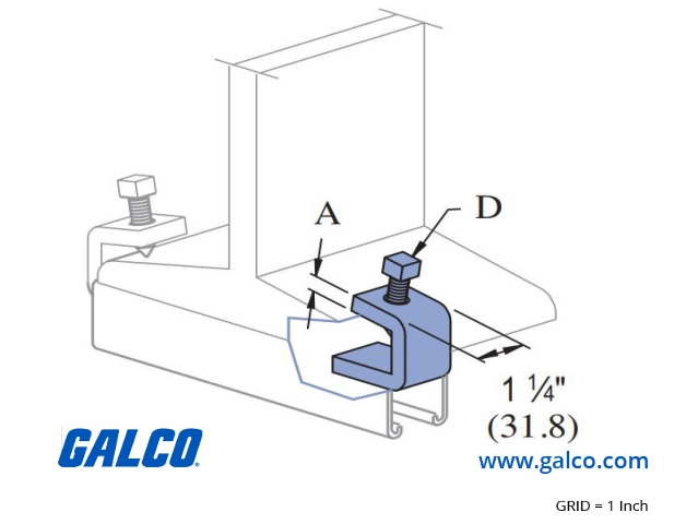 P1986SSS - Unistrut - Beam Clamps | Galco Industrial Electronics