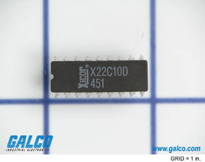 X22C10D: Integrated Circuit from Xicor
