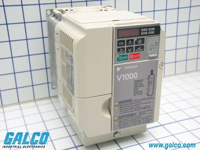 cimr vu4a0005faa yaskawa ac drives galco industrial electronics package image