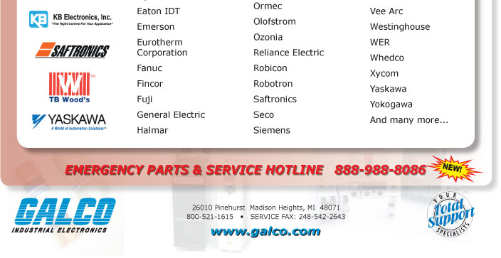 Top Brands We Service
