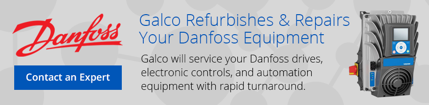 Danfoss Refurbished and Repaired at Galco